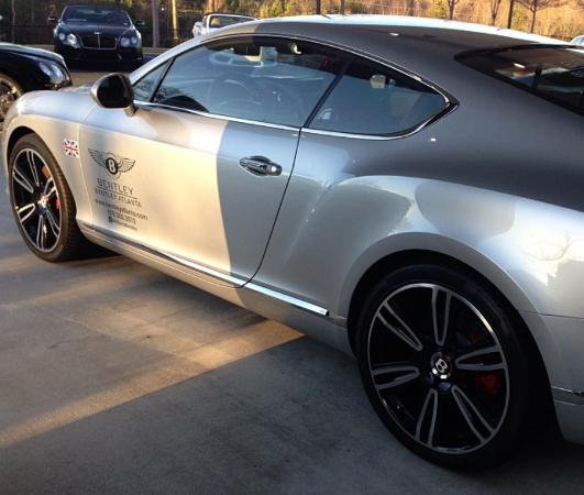 PETER OKOYE OF P-SQUARE ACQUIRES 2014 BENTLEY